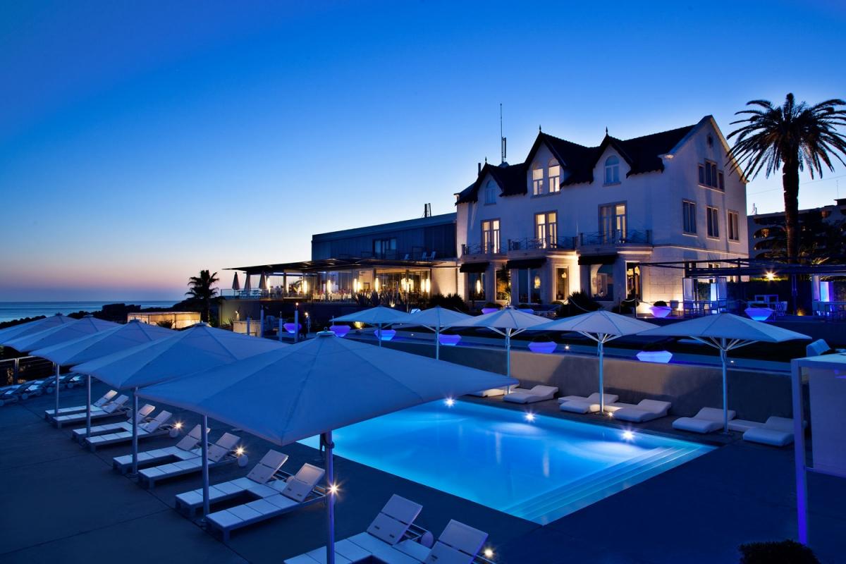 Galeria de fotos e videos do farol hotel em cascais portugal for Designhotel portugal